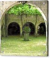 Green Arch Acrylic Print