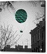 Green Balloon Acrylic Print