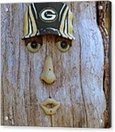 Green Bay Packer Humor Acrylic Print