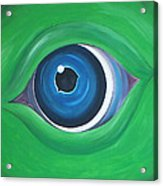 Green Beast Acrylic Print by Sven Fischer