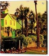 Green Beauty At Isle Of Palms Acrylic Print