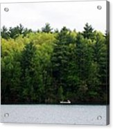 Canoe On Walden Pond Acrylic Print