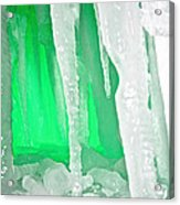 Green Cave Acrylic Print