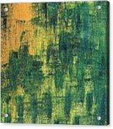 Green City Acrylic Print