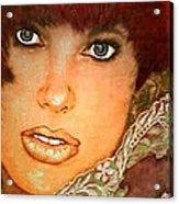 Green Eyed Redhead IIi Acrylic Print