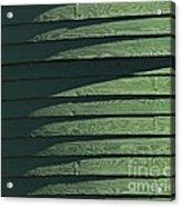 Green Facade Acrylic Print