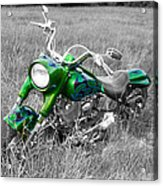 Green Fat Boy Acrylic Print