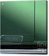 Green Ford Acrylic Print