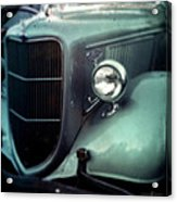 Green Ford Acrylic Print