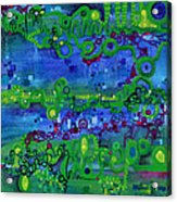 Green Functions Acrylic Print