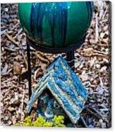 Green Globe Acrylic Print