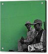 Green Granada Acrylic Print