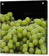 Green Green Grapes Acrylic Print