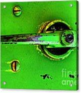 Green Handle Acrylic Print