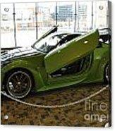 Green Hornet Acrylic Print