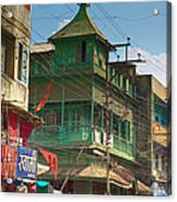Green House At The Marketplace Acrylic Print