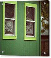 Green House Acrylic Print