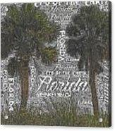 Green Key Beach Hill Side  Acrylic Print