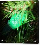 Green Light Acrylic Print
