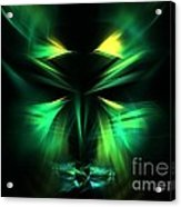Green Man Acrylic Print