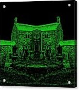 Green Manor Acrylic Print