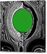 Green Mirror Acrylic Print