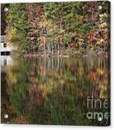 Green Mountain Lake Acrylic Print