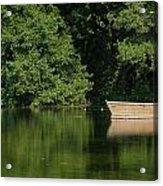 Green Nature Acrylic Print