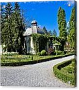 Green Park In Daruvar With Old Thremae Acrylic Print