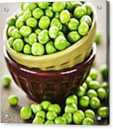 Green Peas Acrylic Print