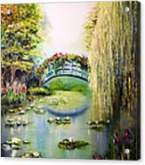 Green Pond Acrylic Print