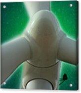 Green Power Acrylic Print