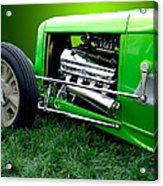 Green Rod Acrylic Print