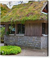Green Roof Acrylic Print