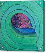 Green Room Acrylic Print