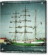 Green Sail Acrylic Print