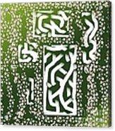 Green Simplicity Acrylic Print