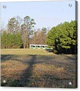 Green Stables - Lake Wheeler Road Acrylic Print