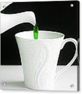 Green Tea Acrylic Print
