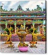 Green Temple Acrylic Print