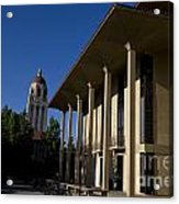 Greene Library And Hoover Tower Stanford University Acrylic Print