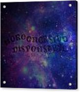 Greener Side Dispensary In Space Acrylic Print