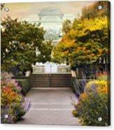 Greenhouse Garden Acrylic Print
