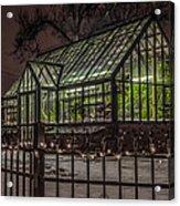 Greenhouse In Winter #2 Acrylic Print