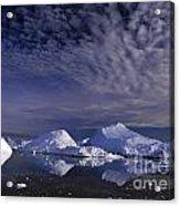 Greenland Midnight Sun Acrylic Print