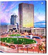 Greensboro Center City Park II Acrylic Print
