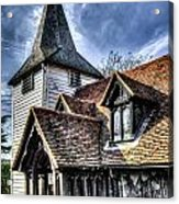 Greensted Church Ongar Acrylic Print