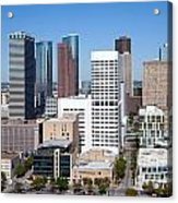 Greenstreet Houston Acrylic Print