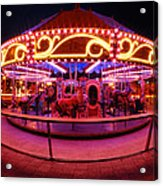 Greenway Carousel - Boston Acrylic Print