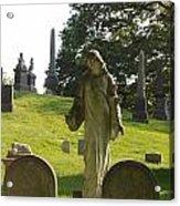 Greenwood Cemetery Acrylic Print